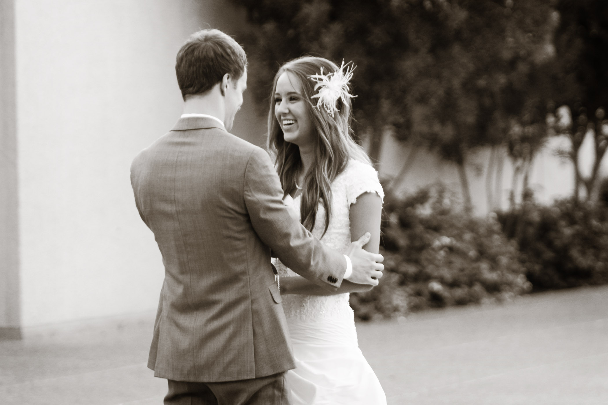 Sunrise Wedding Photography Mesa AZ Temple