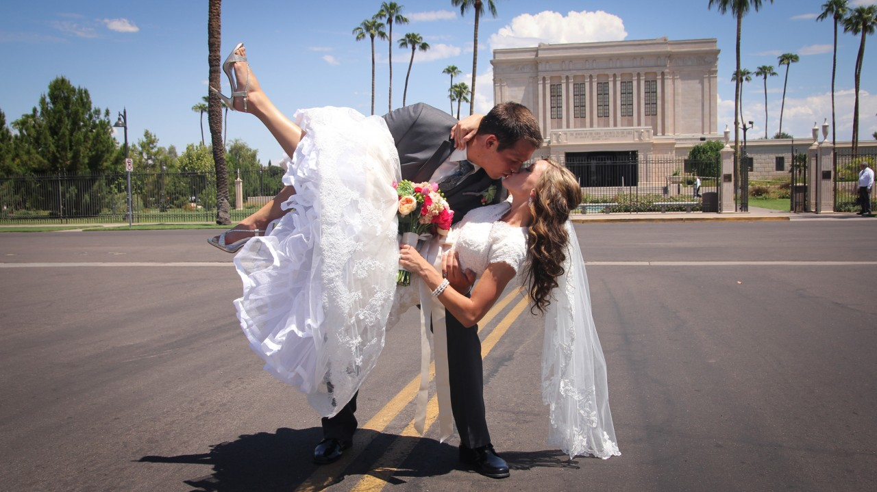 Mesa AZ Temple Wedding