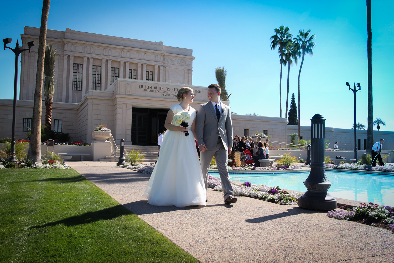Mesa Temple Wedding Photographer
