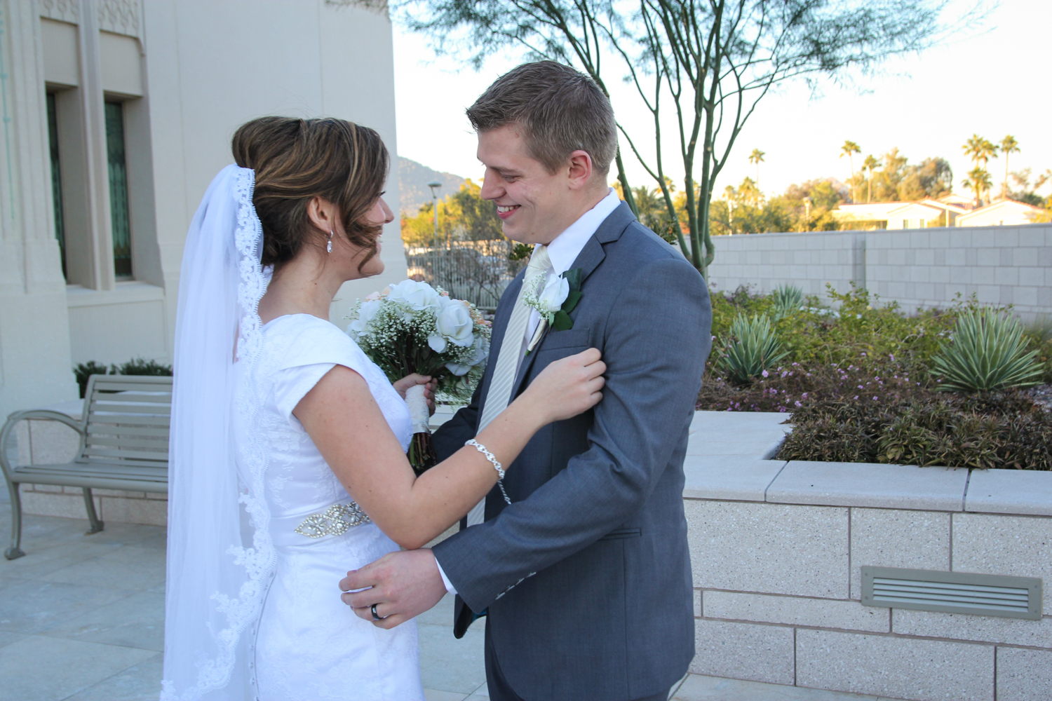 Phoenix Temple Wedding