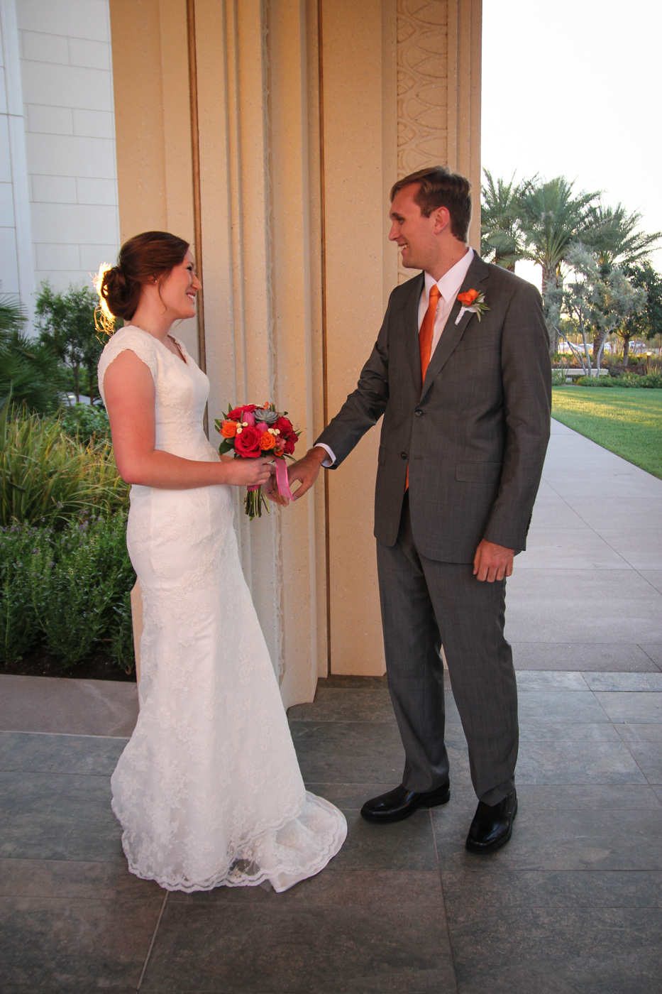 gilbert temple wedding photos