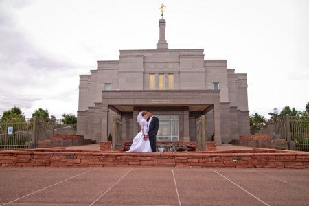 Snowflake Temple Wedding Photography